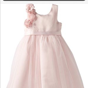 US Angels size 10 pink rosette dress